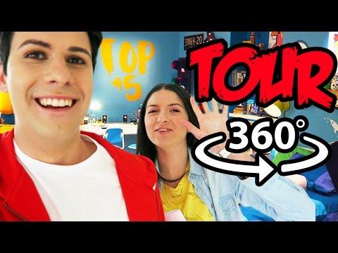 TOUR DELLA STANZA DI LUÌ (Video a 360 Gradi)