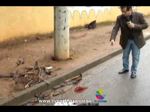 O jogador do Aparecidense, Marco Aurélio, foi baleado numa tentativa de assalto