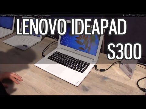 Lenovo IdeaPad S300 budget ultrabook - hands on and first look