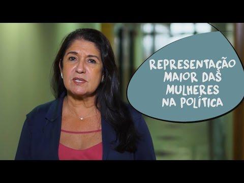 Thelma de Oliveira: representação maior das mulheres