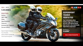 10. 2015 Yamaha FJR 1300 AIMExpo Demo Ride