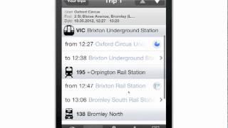 London Public Transport YouTube video