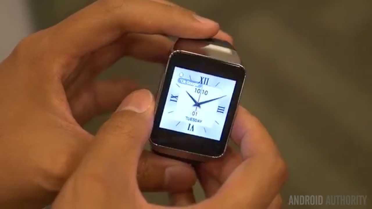 Samsung Gear Live First Look