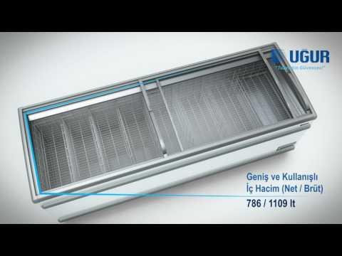 Uğur Soğutma UMD 2500 S BODRUM Market Tipi Teşhir Dolapları