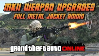 Today's video is about the new MK II weapon upgrades. Today I try out the Full metal jacket ammo and see if it is worth the money.
