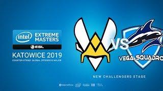 Vitality vs Vega, game 1