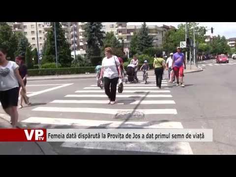 Femeia dată dispărută la Provița de Jos a dat primul semn de viață
