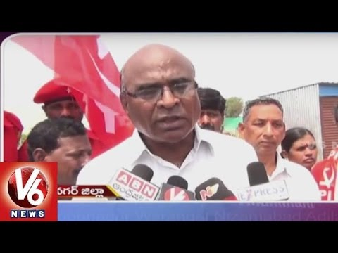 Students-Injured-In-Auto-Accident-Muccherla-Villagers-Protest-Telangana-State-Roundup-V6-News