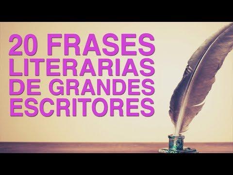 Poemas cortos - 20 Frases literarias de grandes escritores