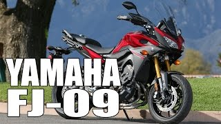 9. Test Ride: 2016 Yamaha FJ-09 (MT-09 Tracer)