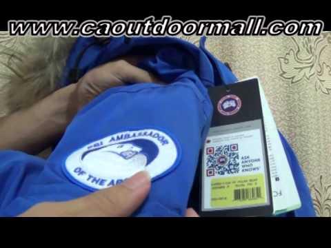 Canada Goose expedition parka replica authentic - 7:35) Unboxing Fake Canada Goose Expedition Parka PBI Jackets Top ...