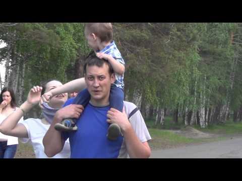 Набережная реки Енисей лесосибирск. Видео высокой четкости.