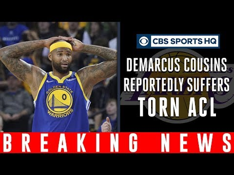 Video: DeMarcus Cousins reportedly TEARS ACL, THIRD injury in TWO years | CBS Sports HQ