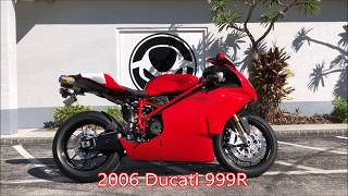 10. Pre-Owned 2006 Ducati 999R at Euro Cycles of Tampa Bay