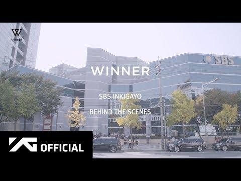 WINNER - 'CROSS' SBS INKIGAYO BEHIND THE SCENES