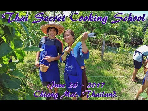 Best Activity In Thailand! A Day Cooking At Thai Secret Cooking School!