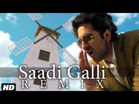 Video Saadi Galli Aaja Nautanki Saala Video Song (Remix) ★ Ayushmann Khurrana, Pooja Salvi download in MP3, 3GP, MP4, WEBM, AVI, FLV January 2017