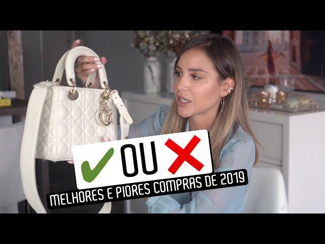 MELHORES e PIORES compras de LUXO de 2019 - Luisa Accorsi