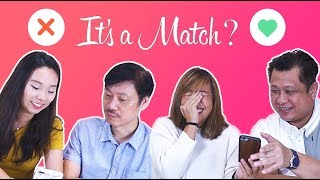 Video Dads Swipe On Tinder For Their Daughters   Father's Day Special 2018 MP3, 3GP, MP4, WEBM, AVI, FLV November 2018