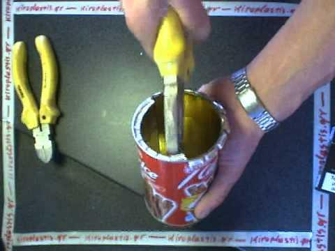 Κατασκευή καλουπιο� γιά κε�ιά .Candle mold making .