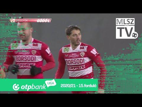 Gheorghe Grozav gólja (Honvéd - DVTK, 15. forduló)