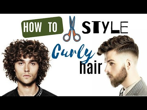 Curly hairstyles - TIPS FOR GUYS WITH CURLY HAIR  How to Style Curly or Wavy Hair  You R Awesome  qazee