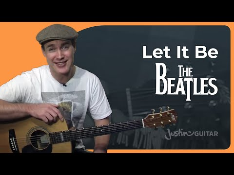 Let It Be - The Beatles (Easy Songs Beginner Guitar Lesson BS-910) How to play