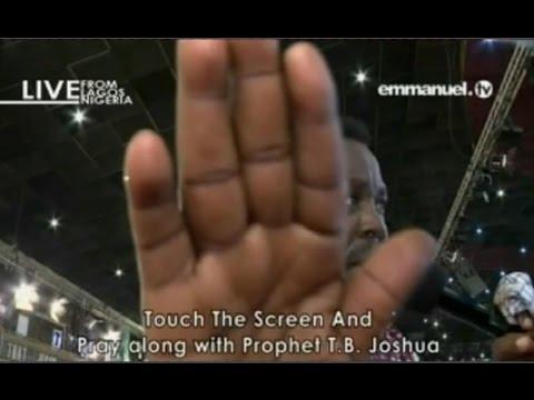 SCOAN 28/02/16: Mass Prayer with TB Joshua. Emmanuel TV