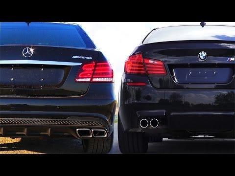 Mercedes E63 AMG vs BMW M5 F10 Review