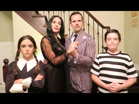 THE ADDAMS FAMILY TRANSFORMATION