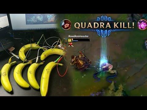 你看過 用香蕉 來玩悟空的嗎?!
