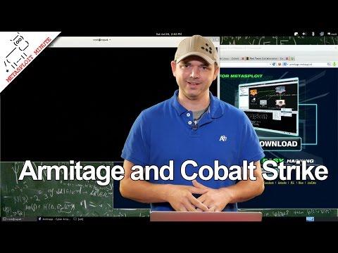 Armitage and Cobalt Strike - Metasploit Minute (видео)
