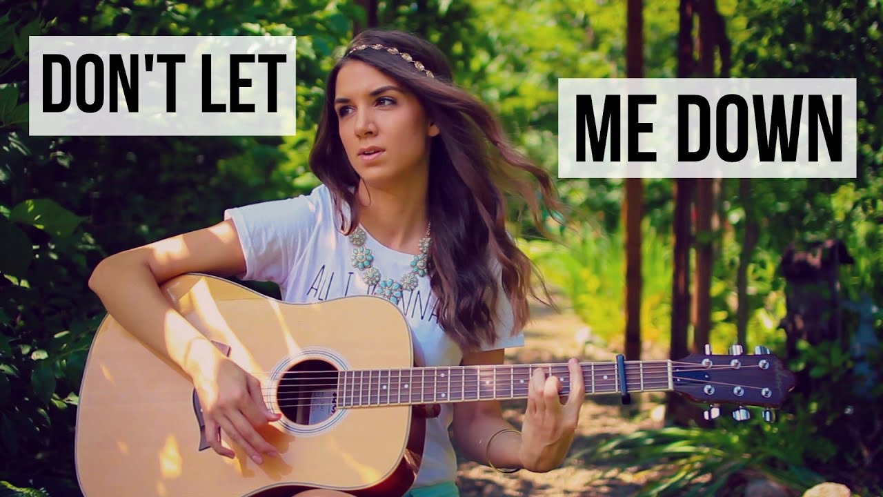 Don't Let Me Down – The Chainsmokers ft. Daya // Guitar Tutorial
