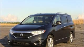 2012 Nissan Quest Minivan Road Trip Review&drive