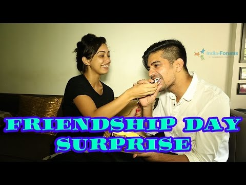 Abigail Pande surprises Vishal Singh on this Frien