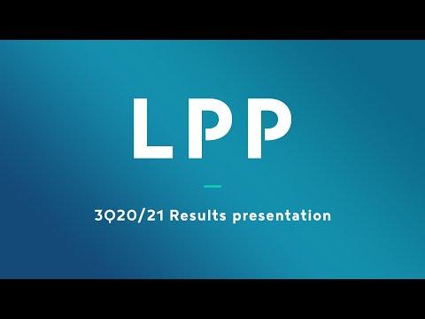 3Q20/21 Results presentation