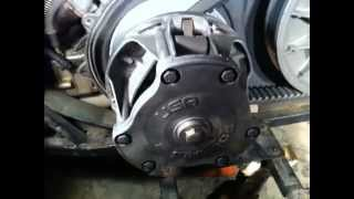 9. Polaris Clutch Removal POLARIS 400L