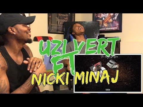Lil Uzi Vert - The Way Life Goes Remix (Feat. Nicki Minaj) [Official Audio] - REACTION