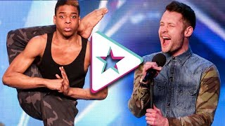 Video Top 10 Best Auditions Britain's Got Talent (part 2) MP3, 3GP, MP4, WEBM, AVI, FLV September 2019
