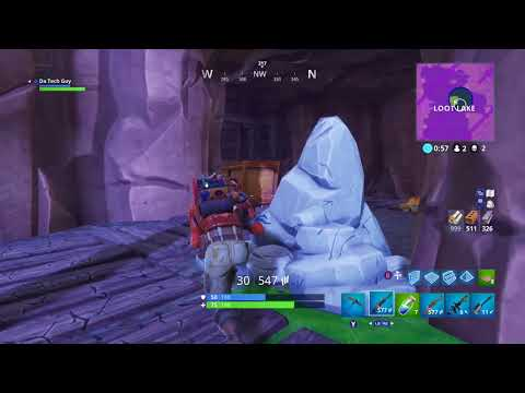Fortnite win with 4hp left