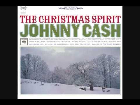 Tekst piosenki Johnny Cash - The Christmas Spirit po polsku