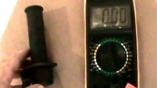 7. Verificacion acelerador (potenciometro) montado ZERO DS 2010