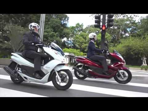 Teste Honda PCX