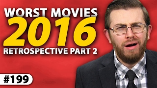 "Episode #199: Yearly Retrospective III - 2016: Part IIIn part two of Movie Night's third-annual yearly retrospective video, Jon awards nine special superlatives to last year's eclectic group of films, and names the three worst movies of 2016. VISIT the ""Movie Night Archive"" for individual reviews and trailer commentaries: http://bit.ly/JPMNYT WATCH more full-episodes of ""Movie Night: http://bit.ly/JogJPMNREAD my un-filmed reviews / scripts: http://bit.ly/JPMNNotFilmedFOLLOW me on Letterboxd to see what I'm watching / rating: http://bit.ly/JonLetterboxd2016's Superlatives:Funniest • Dirty Grandpa (2016) - Vulgar and raunchy, but hilarious, 6/10.Weirdest • Swiss Army Man (2016) - Truly bizarre, but fascinating experience, 7/10.Disappointing • Assassin's Creed (2016) - Gross mishandling of a compelling property, 3/10.Surprising • The Shallows (2016) - Realistic tension. A harrowing 21st century thriller, 8/10.Overrated • Minimalism (2016) - Pretentious and pointless, 3/10.Underrated • Ben-Hur (2016) - Exciting update void of missteps, 8/10.Best Moment • Rogue One: A Star Wars Story (2016) - Darth Vader has never been more frightening, 8/10.Overlooked • PopStar (2016) - Clever documentary with consistently fun music, 7/10.Scariest • The Forest (2016) - Unsettling experience, despite conventional moments, 6/10.2016's Worst Movies:3 • Jack Reacher: Never Go Back (2016) - A criminal waste of time and talent, 3/10.2 • Now You See Me 2 (2016) - Boneheaded and dumb, 2/10.1 • Cell (2016) - Hell, 1/10.~~ Movie Night ~~From inside Hollywood's Chinese Theater, film critic Jonathan Paula shares in-depth and spoiler-free movie reviews on everything from new releases to classics from years past. Presented with a polished style, each episode contains three or more reviews centered around a specific theme - with each movie rated on a 1-10 scale. New episodes twice a month, with single-review uploads and trailer reactions also available on the ""MovieNight"" channel.Born in February 1986, Jonathan Paula is a professional YouTuber, creator of ""Is It A Good Idea To Microwave This?"", and founder of Jogwheel Productions - a new media production company. Jon graduated from Emerson College in 2008 with a degree in Television Production / Radio Broadcasting. He currently lives in Rockingham, NH with his wife Rebecca.~~ Jogwheel Shows ~~Movie Night ----------------------- http://bit.ly/JogJPMN The Microwave Show -------- http://bit.ly/JogTMSDon't Eat The Spam ----------- http://bit.ly/JogSpamGame Time Hangouts -------- http://bit.ly/JogGameJogwheel Originals ------------- http://bit.ly/JogOriginalsRoller Coaster Commotion - http://bit.ly/JogRCCLive Time ---------------------------- http://bit.ly/JogLiveWeird Part Of YouTube ------- http://bit.ly/JogWeird3 Steps To Success ------------ http://bit.ly/Jog3Steps~~ Jon's Other Channels ~~Jon's World (2nd Channel) - http://bit.ly/JonWorldMovie Night Archive ----------- http://bit.ly/JPMNYTThe Microwave Show --------- http://bit.ly/TMSArchiveuStream Live Shows ----------- http://bit.ly/JogLive~~ Social Media & Merch ~~Twitter ------------------- http://bit.ly/JonTWFacebook --------------- http://bit.ly/JonFBFanInstagram --------------- http://bit.ly/JonInstaPatreon ------------------- http://bit.ly/JonPatreonLetterboxd -------------- http://bit.ly/JonLetterboxdT-Shirts ------------------- http://bit.ly/JogStore~~ Technical ~~Created by ------ Jonathan PaulaCamera ----------- Panasonic HMC-150Microphone ----- Sennheiser ME 66Software --------- Adobe Premiere Pro CC 2015Computer ------- http://bit.ly/JonPaulaPC• Jogwheel Productions © 2017 •~"