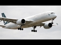 INAUGURAL | Cathay Pacific A350-900 Landing Melbourne
