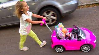 Video Cry Baby Dolls by Cry Babies /Рутина маленького блогера /Катя- мама /Nursery Rhymes / Pretend Play MP3, 3GP, MP4, WEBM, AVI, FLV September 2018