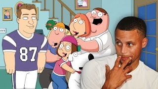 Steph Curry & Rob Gronkowski Are In 'Family Guy' by Obsev Sports