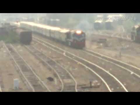 Pakistan Railway 33UP- Pak Business Express departure Karachi Cantt Railway Station