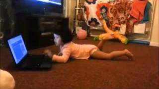 Funny Babies Videos - Lol Kids Scary Moment With Laptop Oh My God Funny Stuff