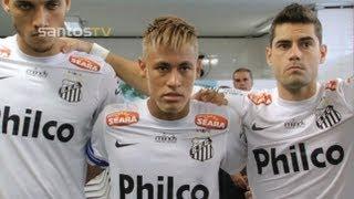 Confira os bastidores da vitória do Peixe no clássico contra o São Paulo pela quinta rodada do Paulistão 2013.